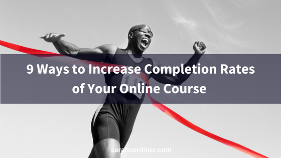 9 Ways to Increase Engagement and Completion Rates in Your Online Course