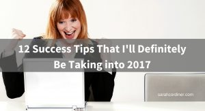 success strategies for 2017 sarah cordiner