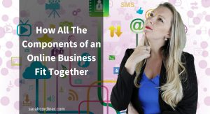 How all of the components of an online education business fit together