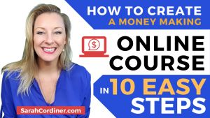 Create an online course in 10 steps