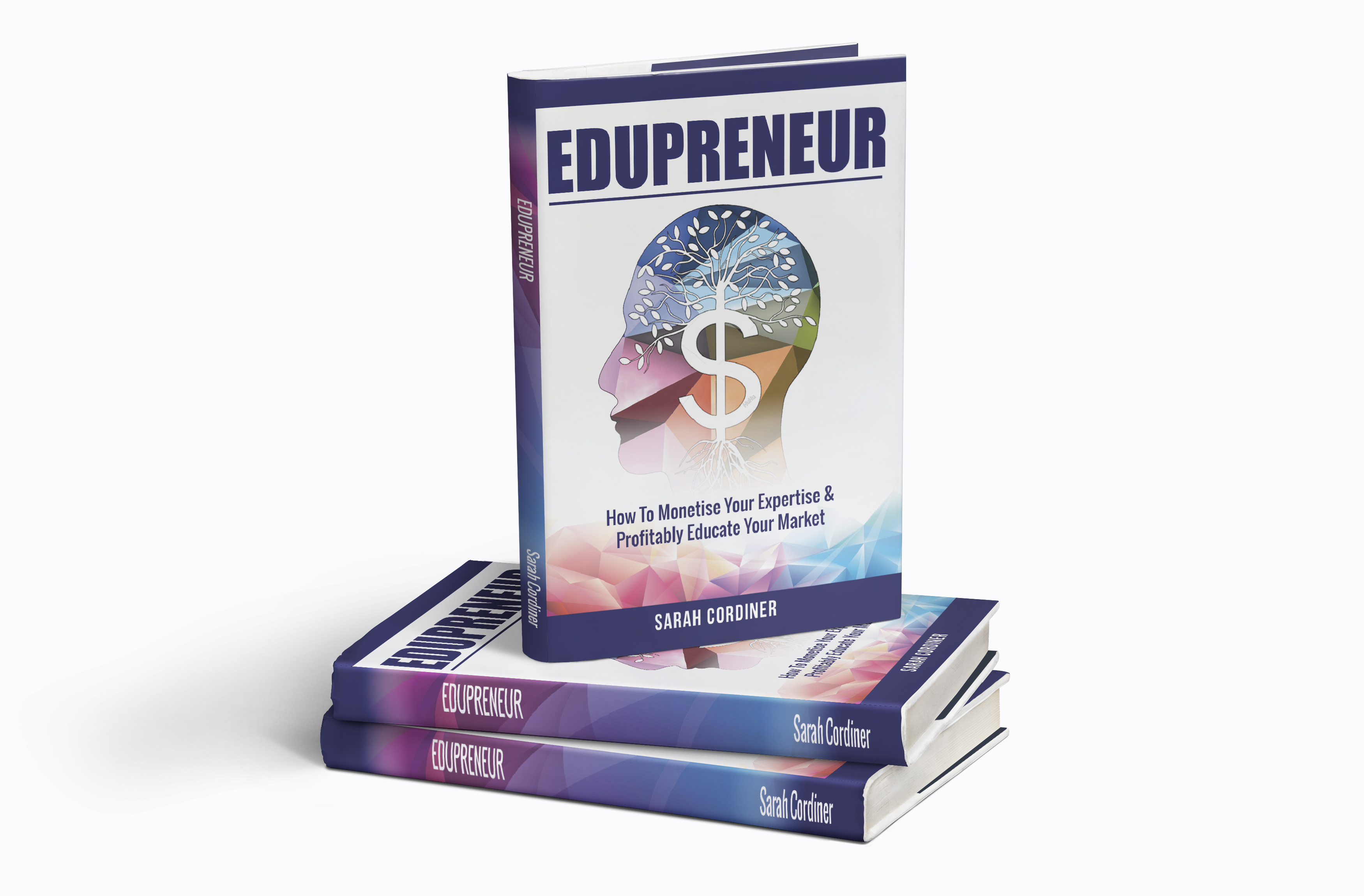 edupreneur front cover book 3d image