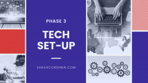 what technology and equipment needed for an online course