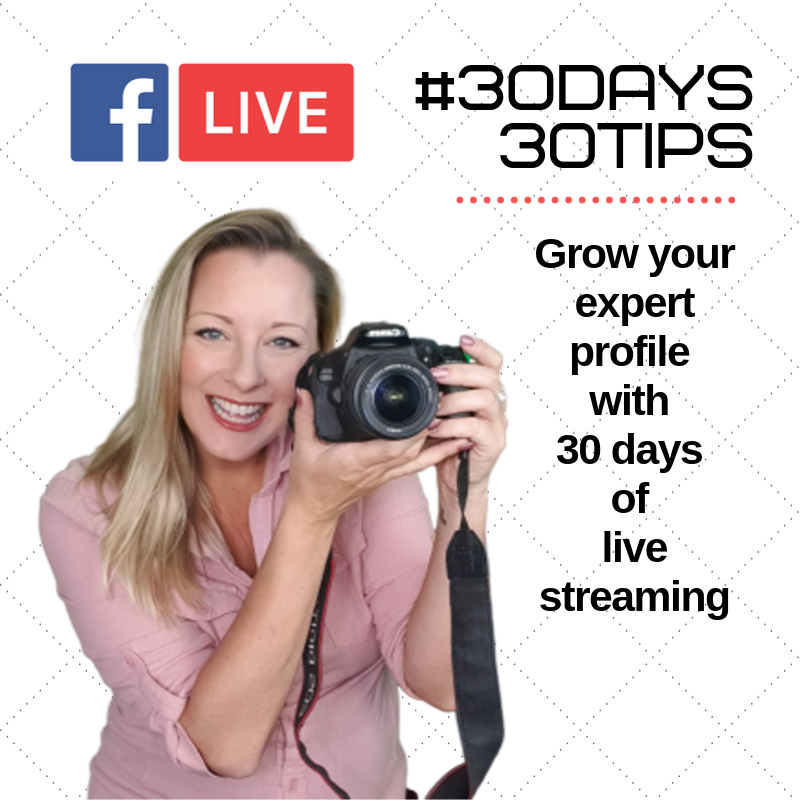 #30Days 30Tips sarah cordiner live stream