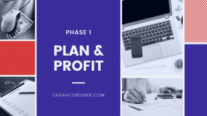 PLAN & PROFIT online course creation phase 1