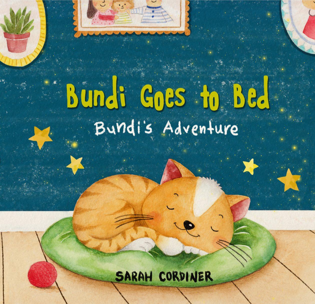 Bundi Goes to Bed - Childrens Book Sarah Cordiner