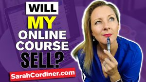 how to ensure your online course will make money