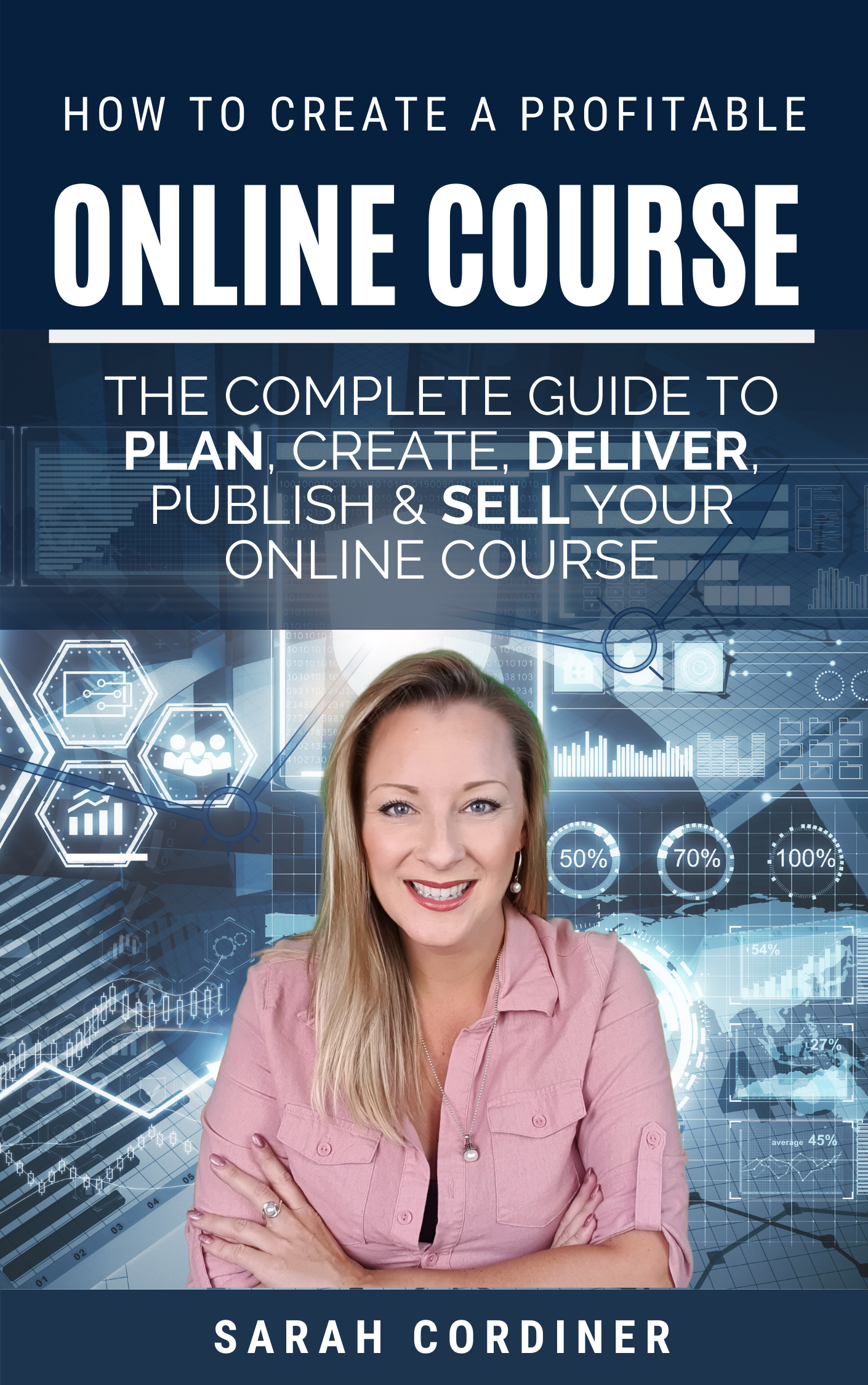 how to create an online course sarah cordiner