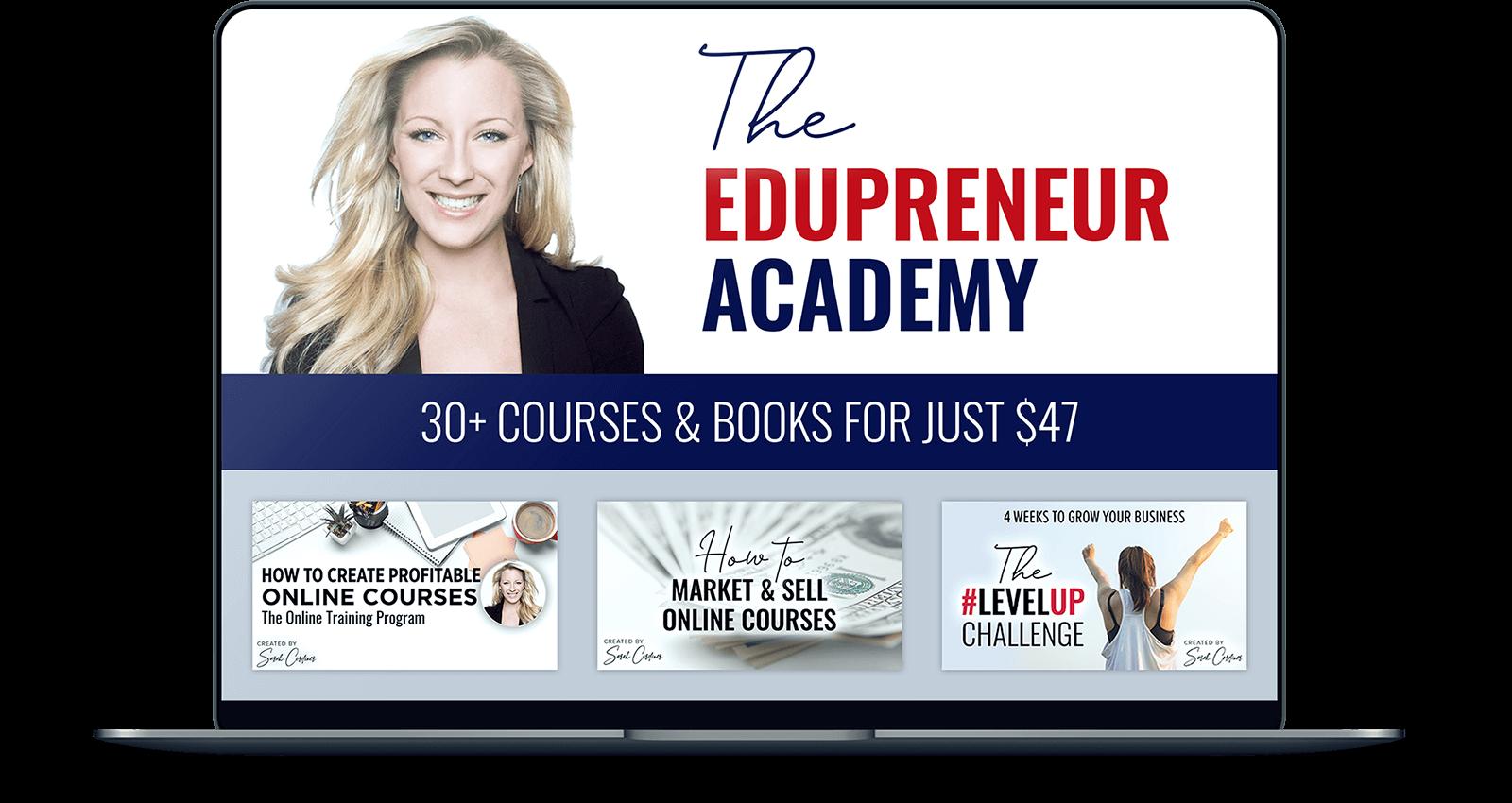 edupreneur academy laptop
