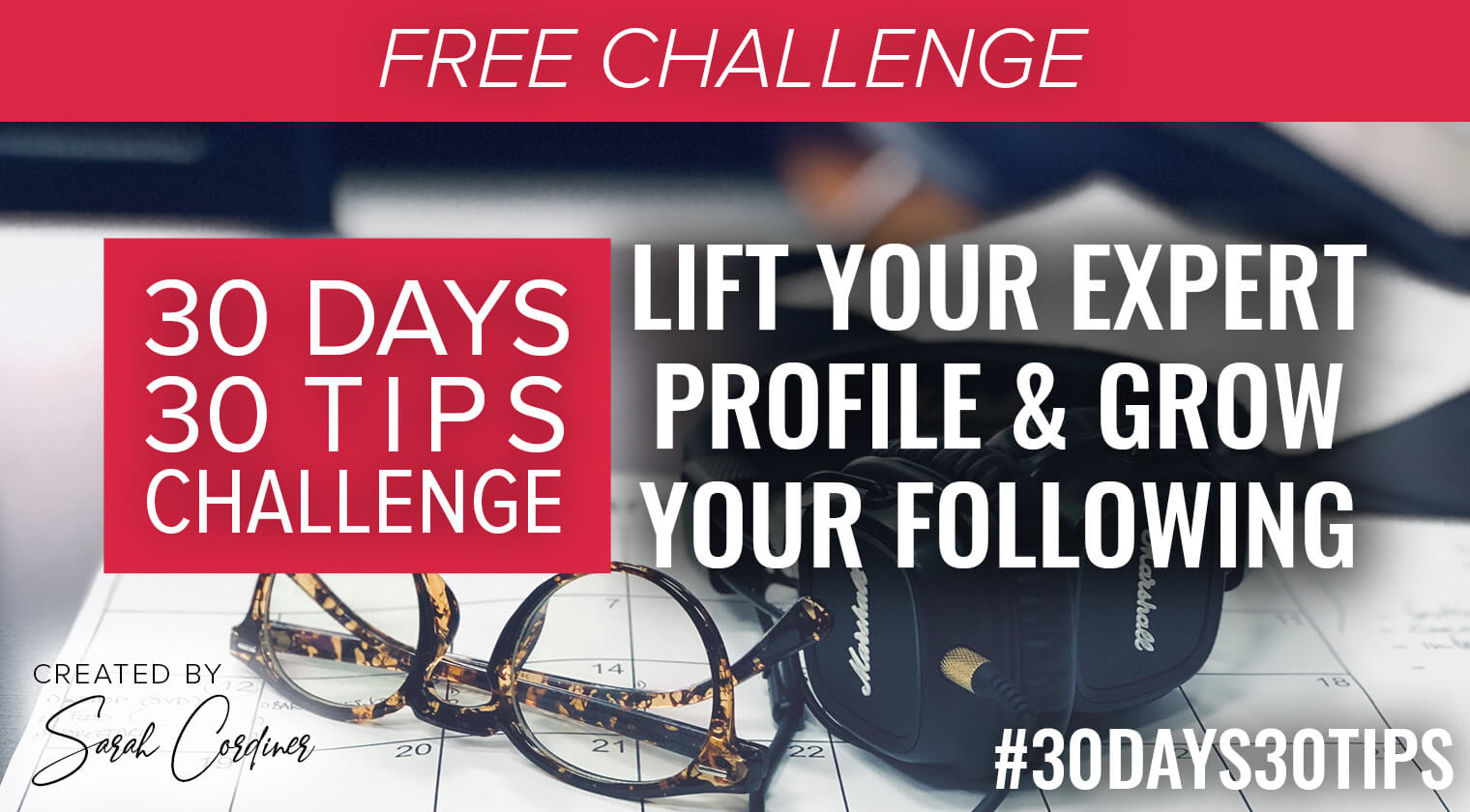 30 day lift your expert profile