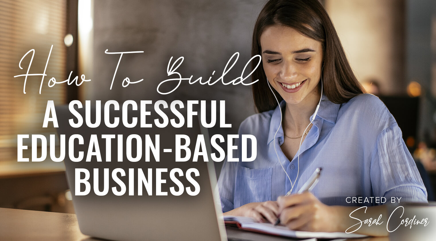 build a successful education-based business