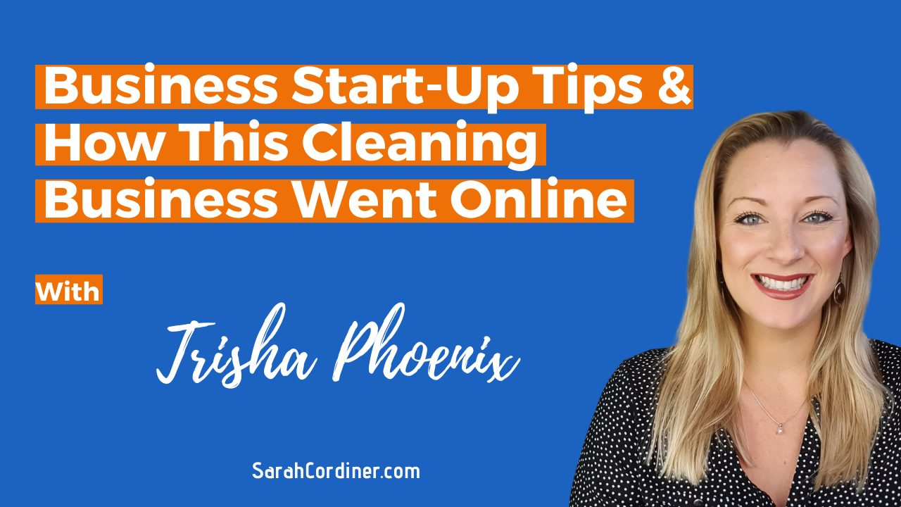 Business Start-Up Tips & How This Cleaning Business Went Online