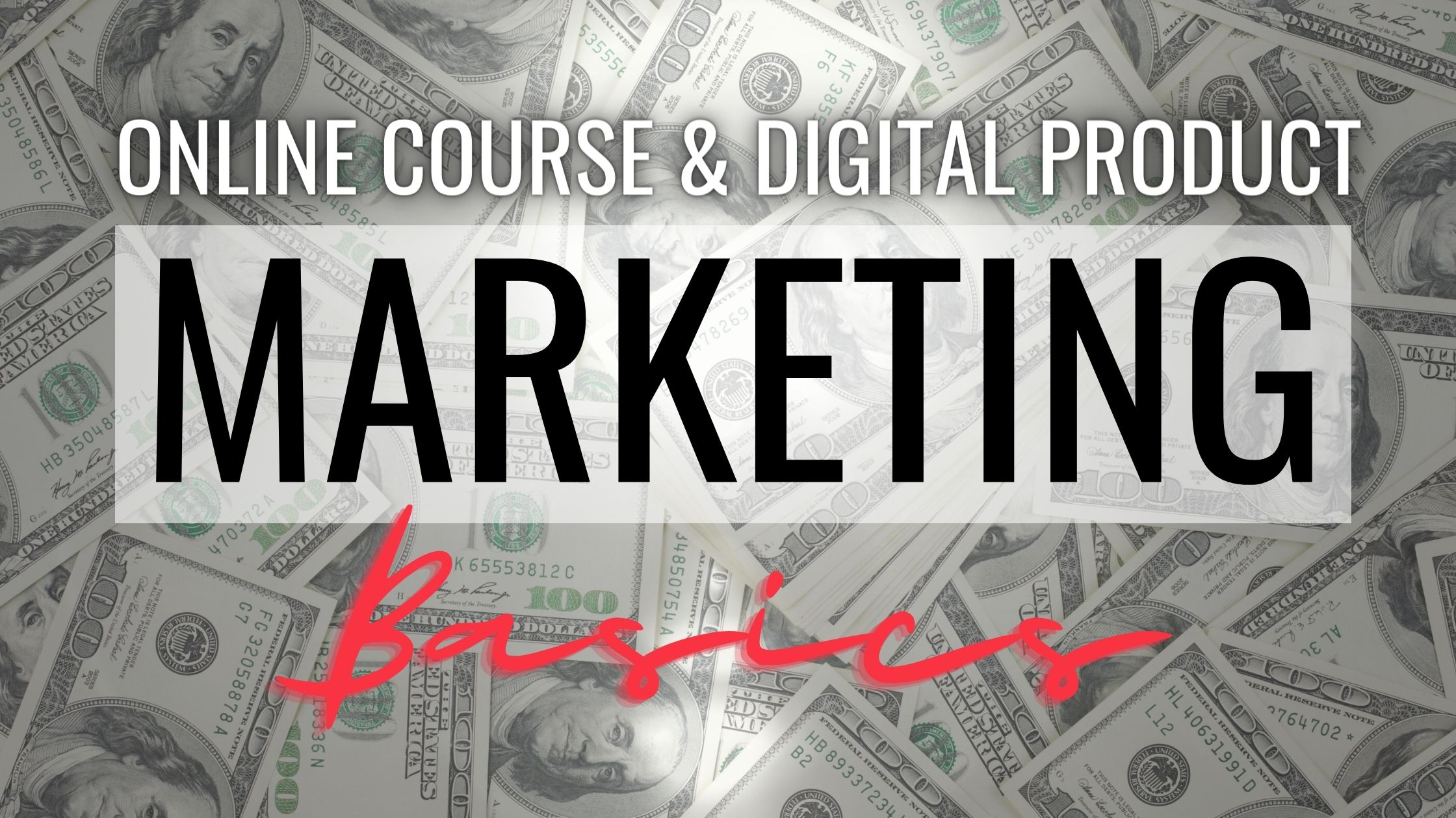How to market promote and sell your online course