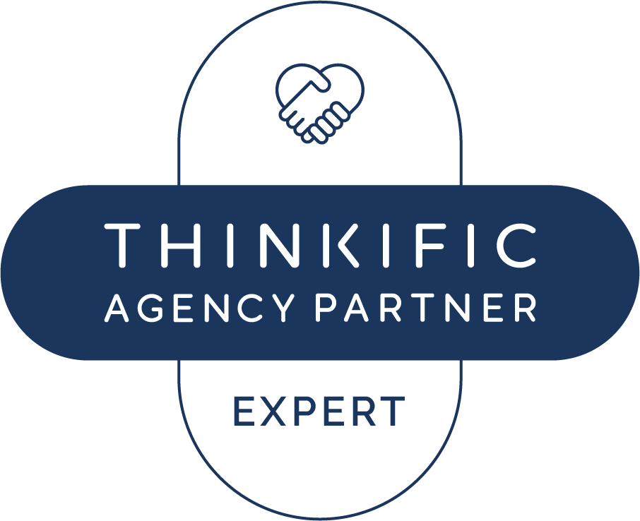 Sarah Cordinr - Approved Thinkific Expert Badge-Thinkific-Agency-Expert