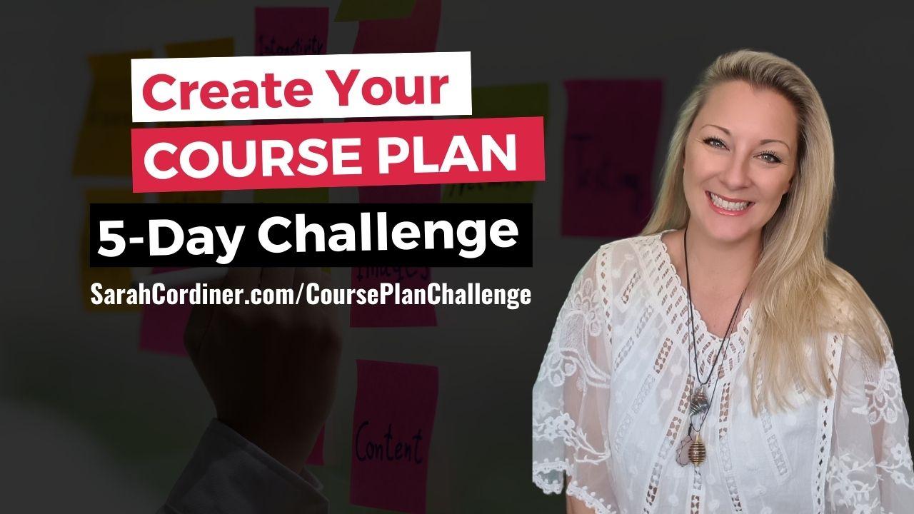 sarah cordiner 5 day course plan challenge